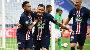 Neymar scored the decisive goal as PSG won the French Cup for the fifth time in six seasons