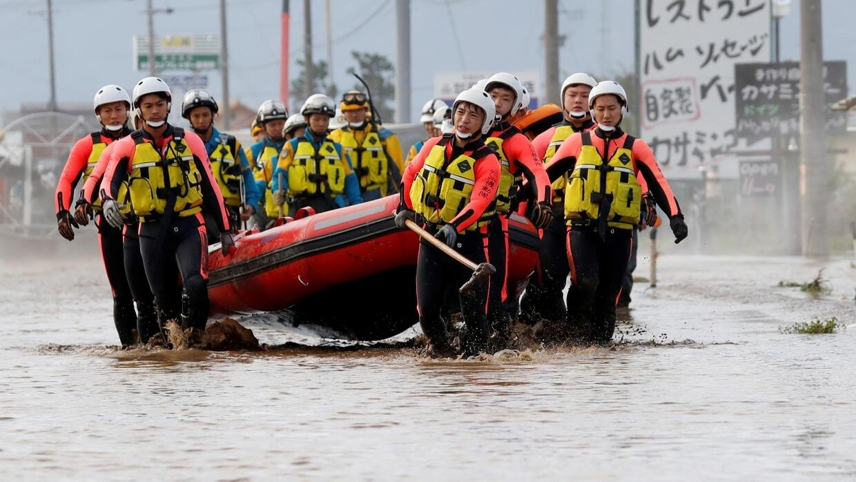 Le bilan du typhon Hagibis grimpe encore au Japon