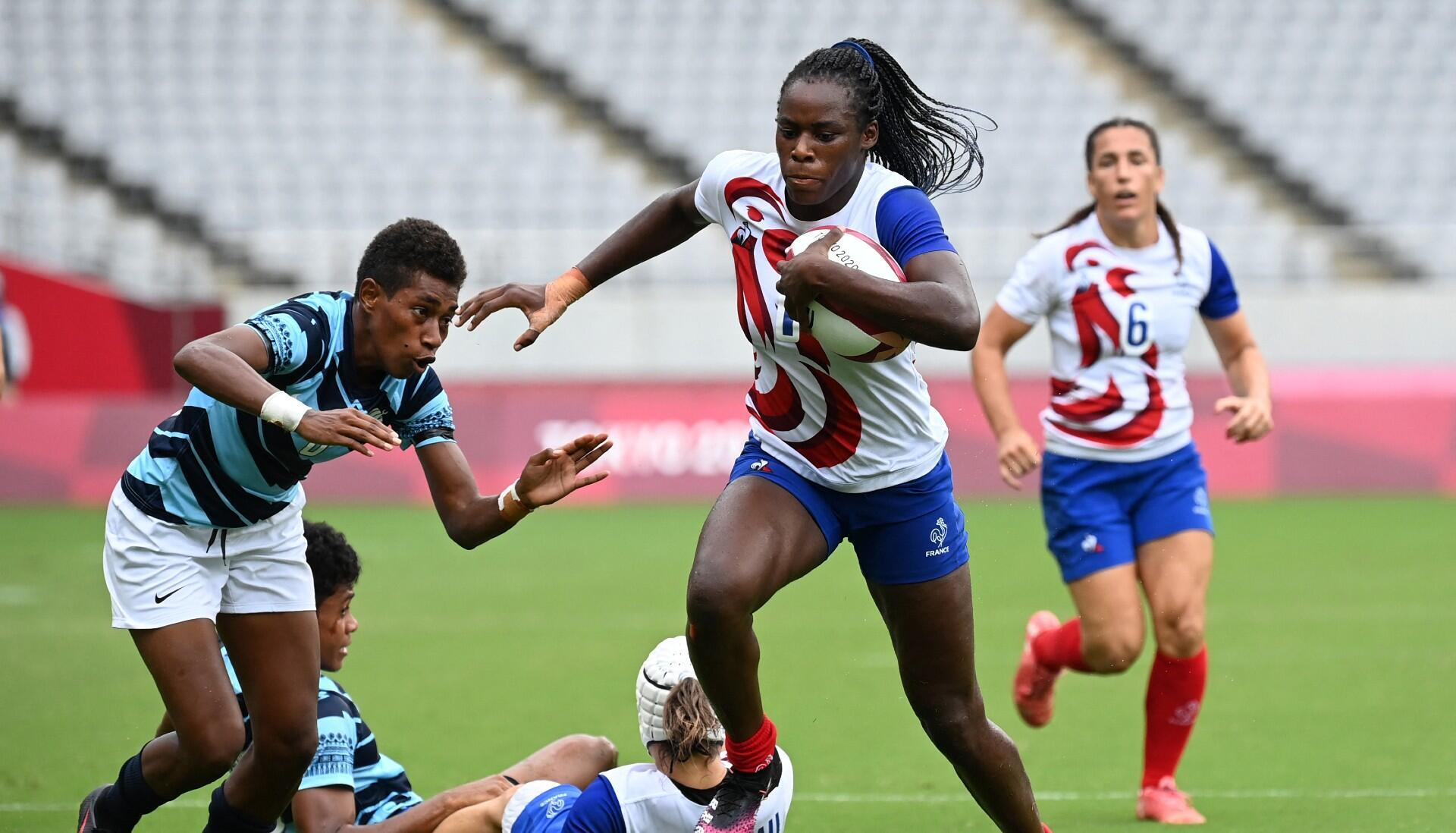 Seraphine okemba rugby