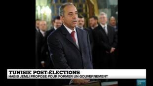 Le candidat d'Ennahda, Habib Jemli, a été proposé pour former le prochain gouvernement, le 15 novembre 2019.