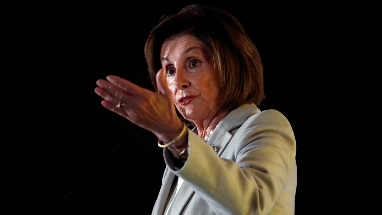 Democratic Speaker Nancy Pelosi is leading the impeachment proceedings in the House of Representatives.