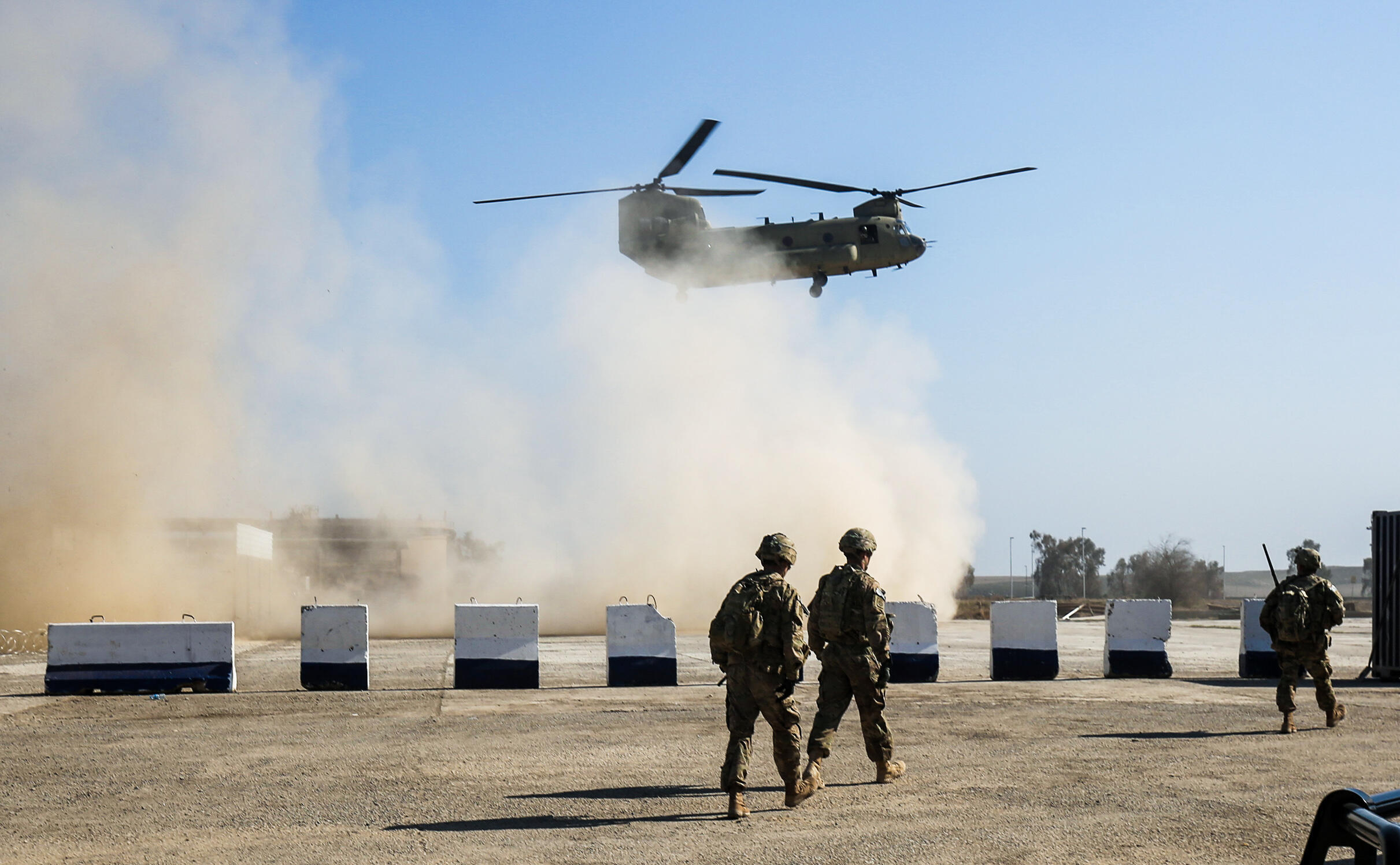 قوات أمريكية في العراق.