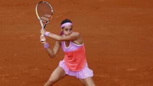 Caroline Garcia a mené mais a finalement craqué au 1er tour de Roland-Garros