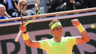 Rafael Nadal s'est qualifié vendredi 7 juin pour une douzième finale de Roland-Garros.