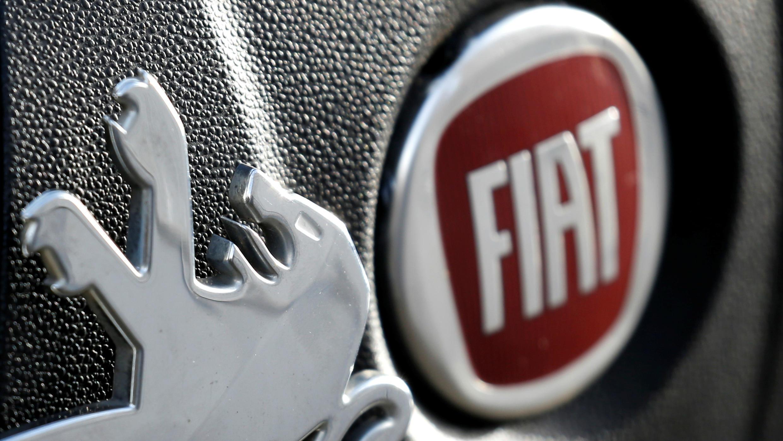 PSA Fiat logos