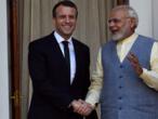 En direct: la conférence de presse d'Emmanuel Macron et Narendra Modi à Chantilly