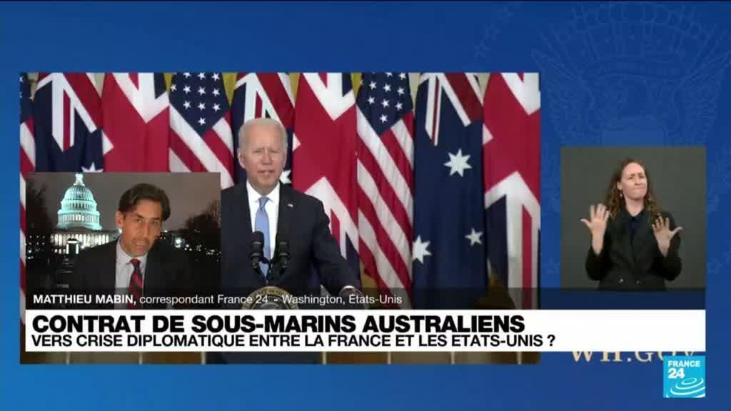 2021-09-16 10:04 Contrats de sous-marins australiens : vers une crise diplomatique entre la France et les Etats-Unis ?