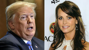 Donald Trump et l'ancienne playmate Karen McDougal.