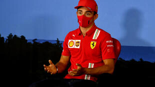 Le pilote monégasque de Formule 1 Charles Leclerc le 2 juillet 2020 à Spielberg (Autriche)
