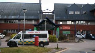 El hospital del distrito de Salisbury en Inglaterra mantuvo a la familia Skripal bajo cuidados intensivos por varios días. Marzo 6 de 2018