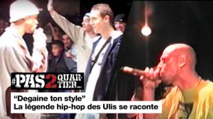"""""""Dégaine ton style"""" La légende hip-hop des Ulis se raconte"""