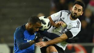 Les Bleus sont revenus d'Allemagne avec un match nul (2-2).