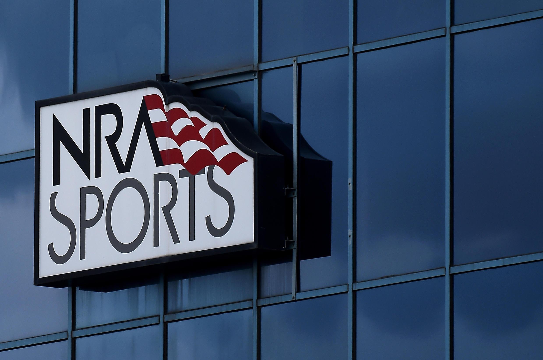 Le siège de la National Riffle Association of America (NRA), le 6 août 2020 à Fairfax, en Virginie.