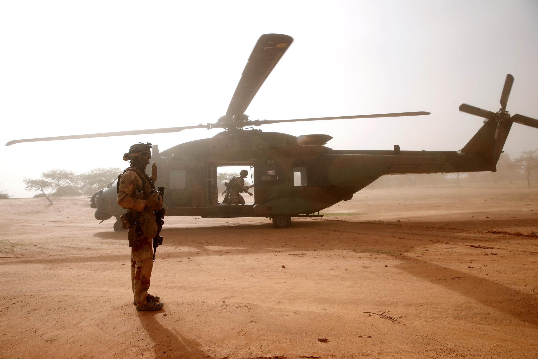 File photo - French military Mali