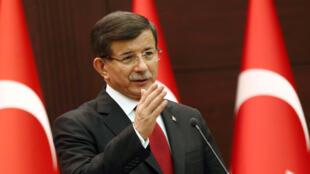 Le Premier ministre turc, Ahmet Davutoglu.