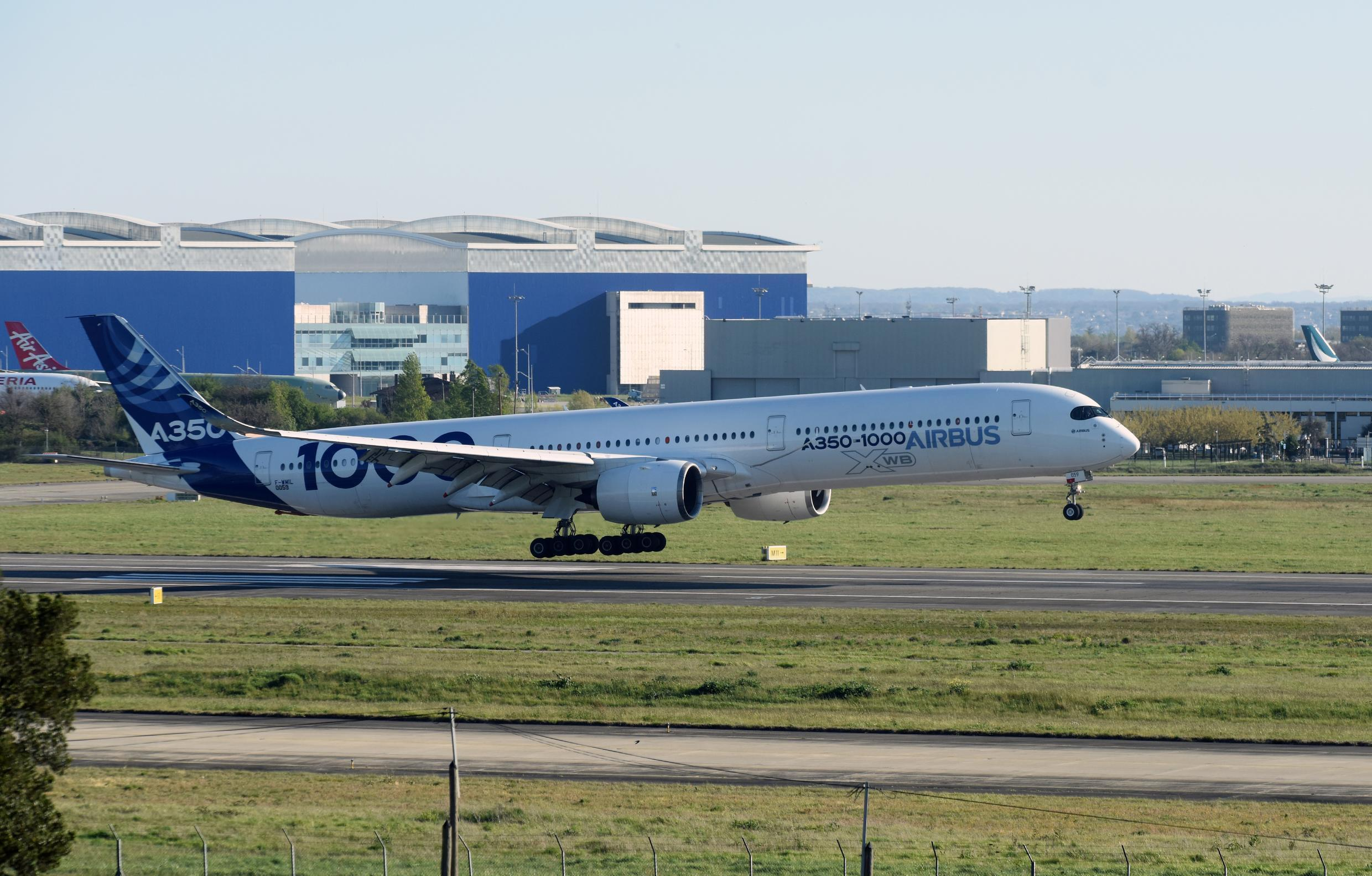 Government help to develop the Airbus A350 was the origin of an epic legal battle between the US and EU over aircraft subsidies