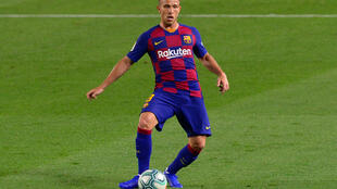 Arthur has not played for Barcelona since his pending transfer to Juventus was announced last month