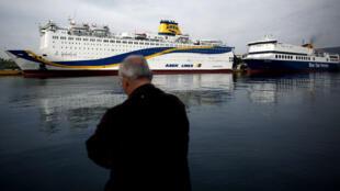 Un ferry italien a pris feu dimanche 28 décembre au large de la Grèce, nécessitant l'évacuation des 478 passagers. Photo d'archive.