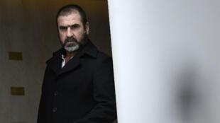 L'ancienne star du football Éric Cantona