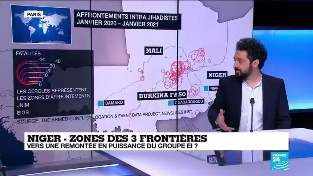 2021-03-23 13:44 Niger : 137 civils assassinés, est-ce un retour en force de l'OEI ?