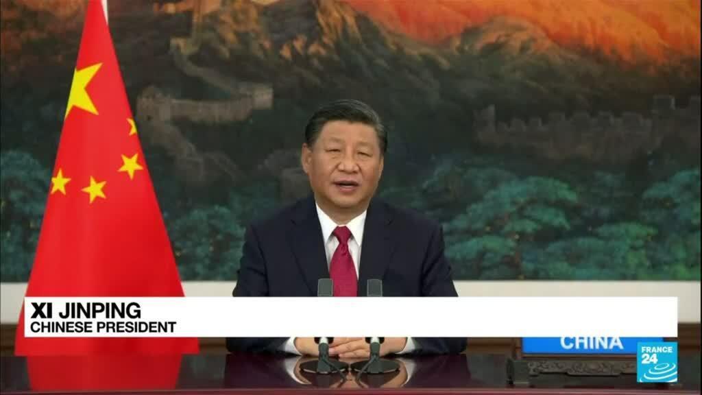 2021-09-22 08:02 China's Xi, like Biden hours earlier, turns to calm language
