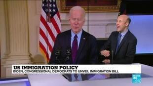 2021-02-18 16:03 Biden and congressional Democrats to unveil immigration bill
