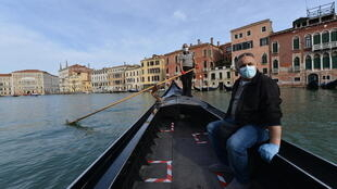 Venice has been hit hard by tourist exodus