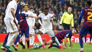 Vinicius Real vs Barcelona Reuters