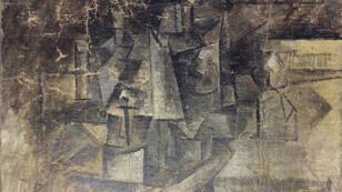 """""""La Coiffeuse"""", une toile cubiste peinte par Picasso en 1911, est estimée à 15 millions de dollars."""