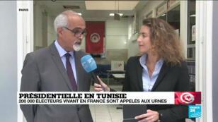La participation des Tunisiens de l'étranger en France est faible pour l'élection présidentielle, le 13septembre2019.