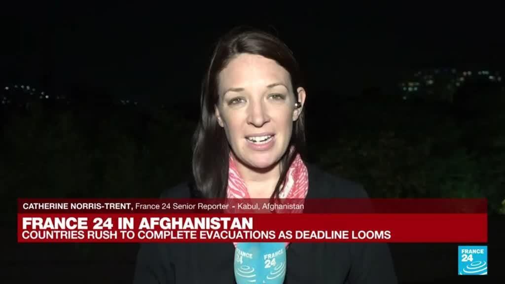 2021-08-25 18:01 FRANCE 24 in Afghanistan: Afghans race to flee Taliban as deadline looms