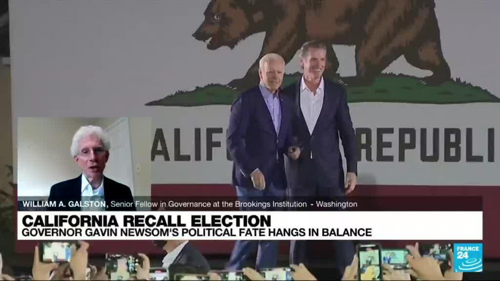 2021-09-14 23:05 California gubernatorial recall election seen as proxy election for 2022 US midterms