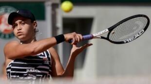 الأسترالية آشلي بارتي تحرز اول لقب كبير في بطولة رولان غاروس الفرنسية على حساب التشيكية ماركيتا فوندروسوفا السبت 8 حزيران/يونيو 2019