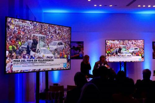 France 24 Spanish will begin broadcasting on September 26.