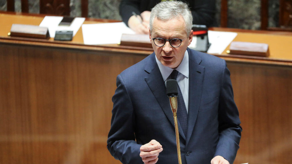 Fotografía de archivo del ministro francés de Economía y Finanzas, Bruno Le Maire.