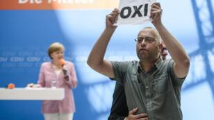 """La presse allemande s'est montrée très critique à l'égard de la victoire du """"non"""" au référendum grec."""