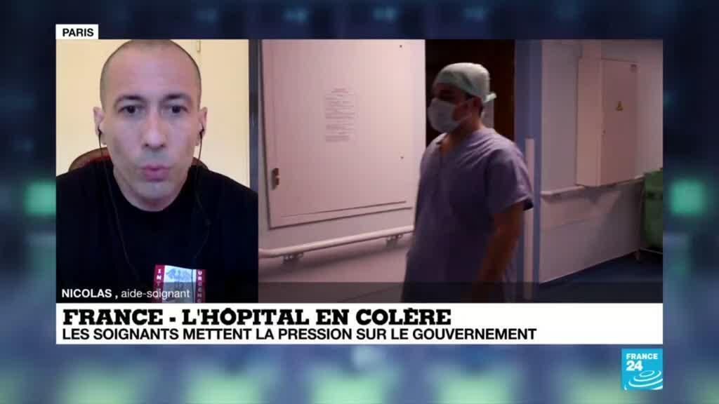 2020-06-16 09:04 France : l'Hôpital en Colère