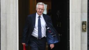 Le ministre britannique en charge du Brexit, David Davis