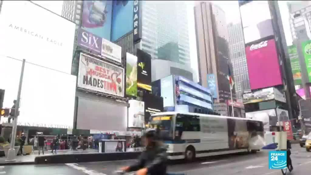 2020-03-16 13:12 Coronavirus aux États-Unis : Fermeture des restaurants, bars, cinémas à New-York