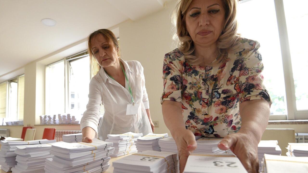Armenia begins voting in snap election amid enduring post-Karabakh tensions