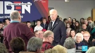 "2019-12-06 15:13 ""You're a damn liar"": Biden lashes out at audience member at campaign event"