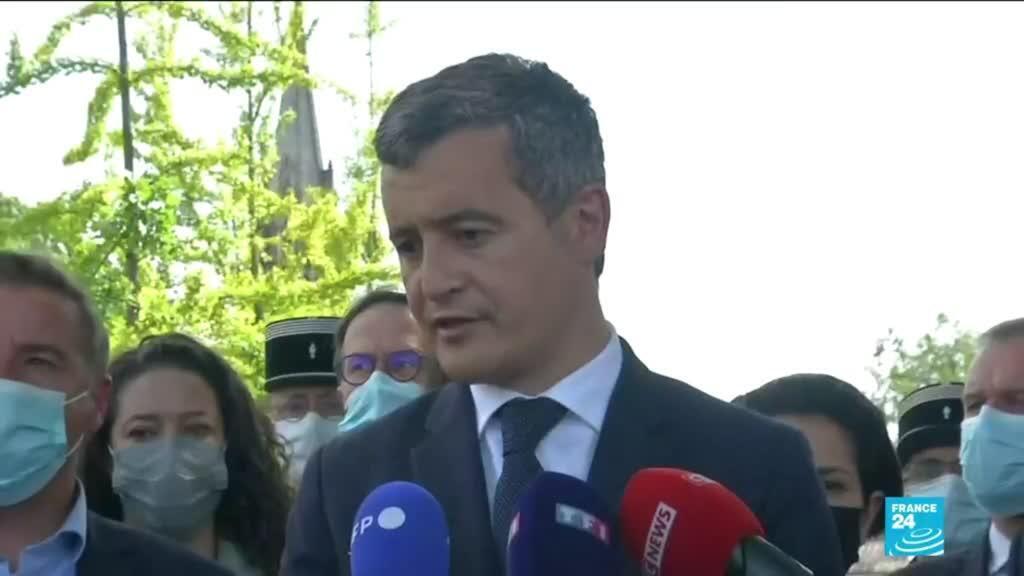 2021-05-28 16:06 Attaque d'une policière en France : pas d'enquête pour terrorisme pour le moment (Gérald Darmanin)
