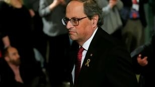 Torra was picked by his predecessor Carles Puigdemont, who fled Spain shortly after the Catalan parliament declared independence to no effect following in October 2017 a banned independence referendum