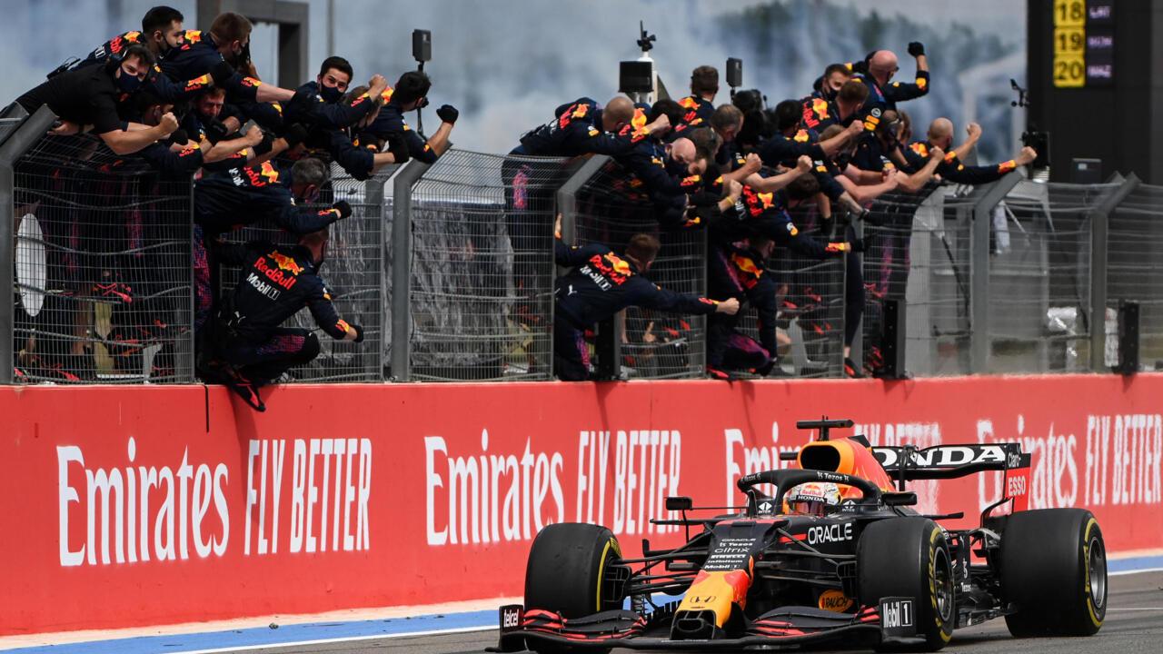 F1: Verstappen denies Hamilton in windblown French Grand Prix thriller