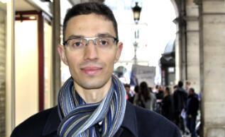Albin, 23 ans, militant du FN.