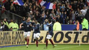 La France s'est imposée 2-0 face à l'Allemagne, vendredi 13 novembre, au Stade de France.
