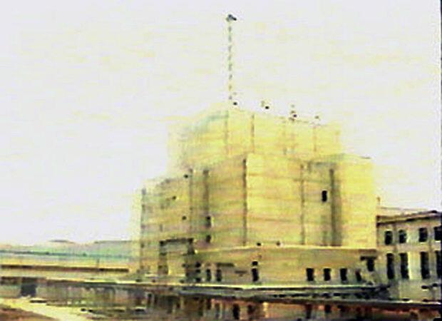Imagen de la instalación nuclear de Yongbyon-1, tomada en 1992. El reactor del sitio se detiene temporalmente en 1994 después de un acuerdo internacional dirigido a congelar el programa nuclear del país.
