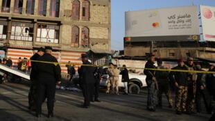 L'attentat a touché la place Al-Tayaran, dans le centre de Bagdad.