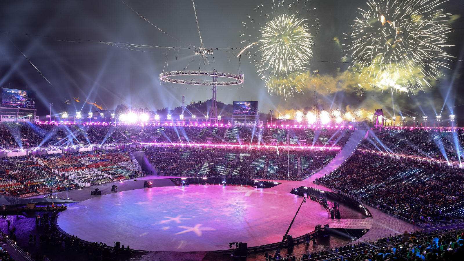 South Korea's flagship ski resort in Pyeongchang is hosting the 2018 Winter Olympics, 15 days of competition that opened with an impressive ceremony.