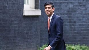 Rishi Sunak arrives at Downing Street 10 in London, Britain February 13, 2020